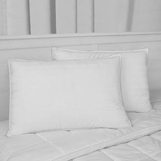 SwissLux Luxury Cotton Down Alternative Pillows (set of 2)