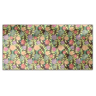 Soft Flowers On Branches Rectangle Tablecloth