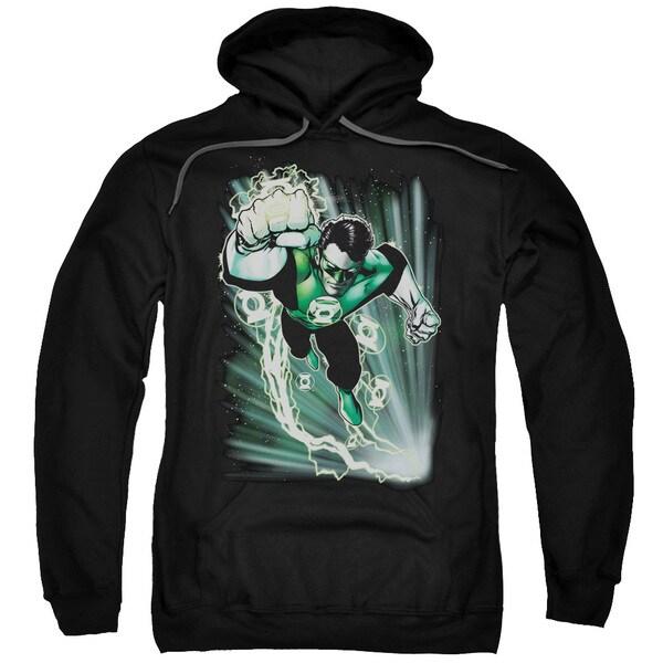 JLA/Emerald Energy Adult Pull-Over Hoodie in Black