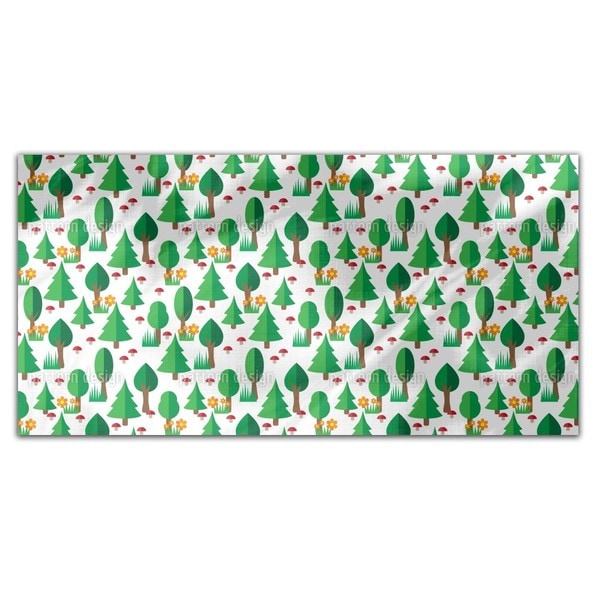 Forest Walk Rectangle Tablecloth