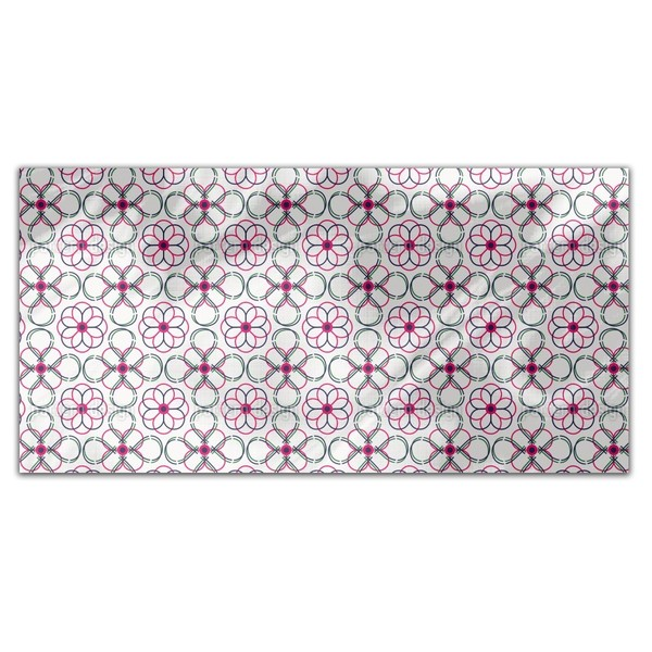 Follow The Flowers Rectangle Tablecloth