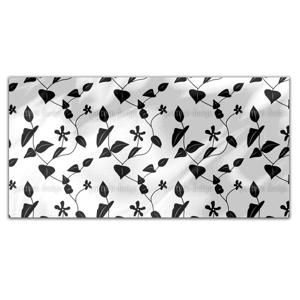 Flowers On The Hill Rectangle Tablecloth