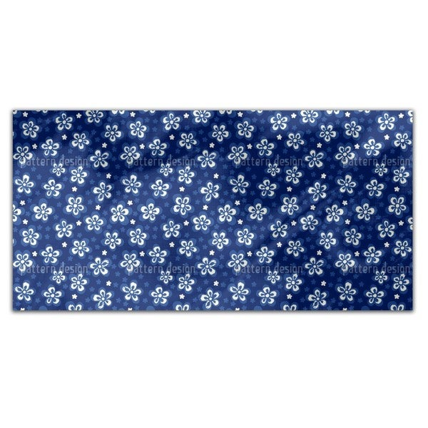 Flowers And Pixels Rectangle Tablecloth