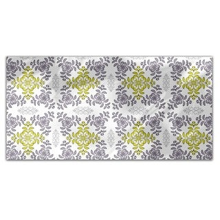 Floral Geometry Rectangle Tablecloth