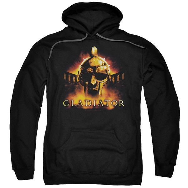 Gladiator/My Name Is Adult Pull-Over Hoodie in Black