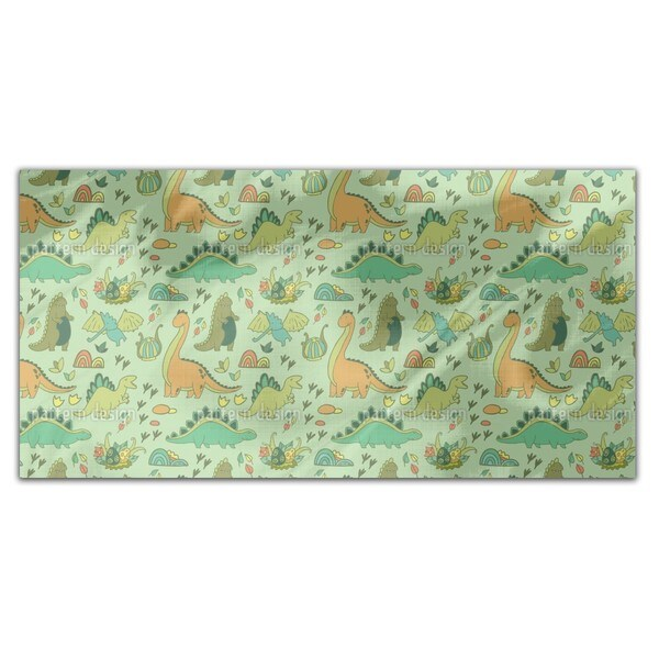 Dino World Rectangle Tablecloth
