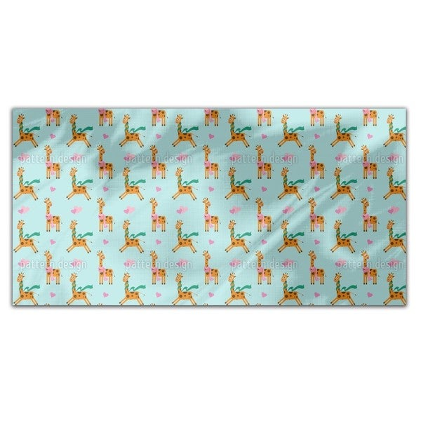Cute Giraffe Rectangle Tablecloth 18715365