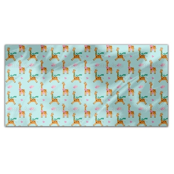 Cute Giraffe Rectangle Tablecloth 18715367