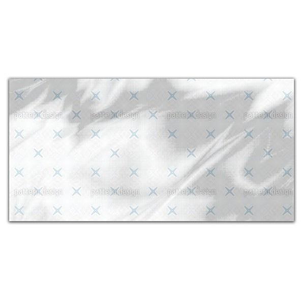 Cross Coordinates Rectangle Tablecloth