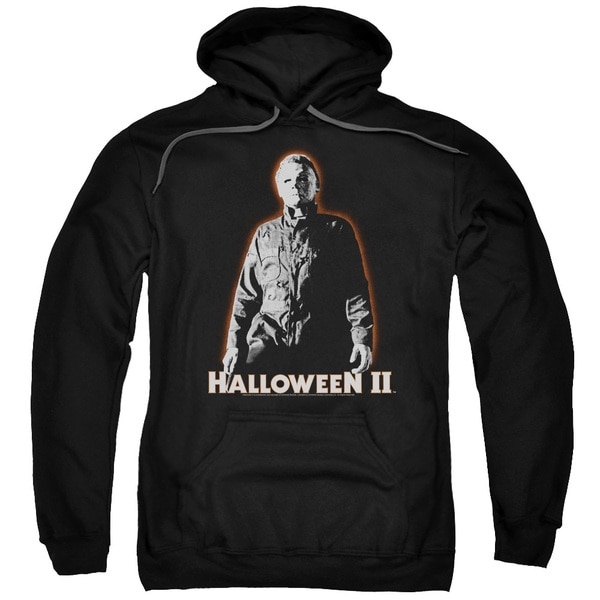 Halloween Ii/Michael Myers Adult Pull-Over Hoodie in Black