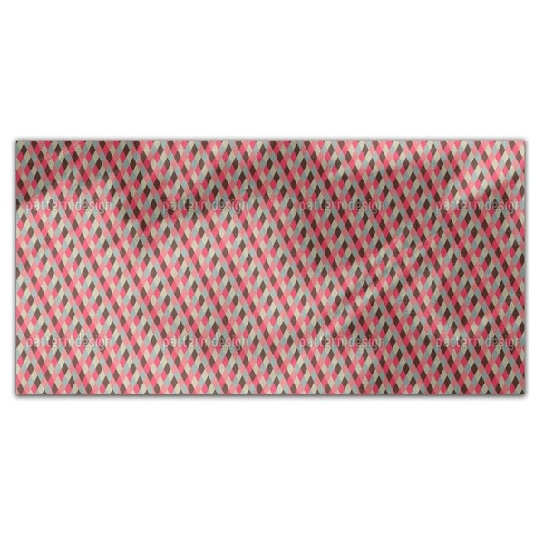 Checks Downhill Rectangle Tablecloth