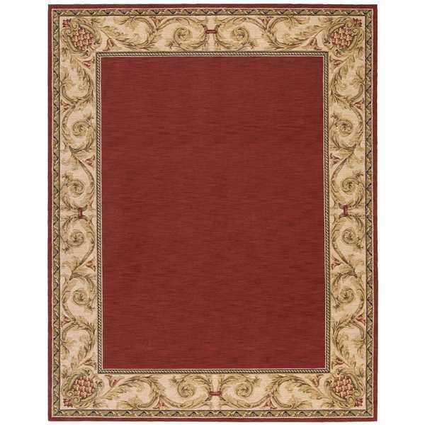 Nourison Vallencierre Brick Rug (8'3 x 11'3) - 8'3 x 11'3 18716057