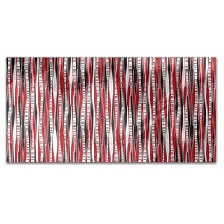 Birch Forest At Sunset Rectangle Tablecloth