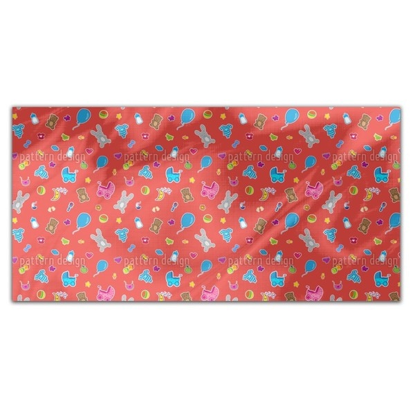 Baby Toys Rectangle Tablecloth