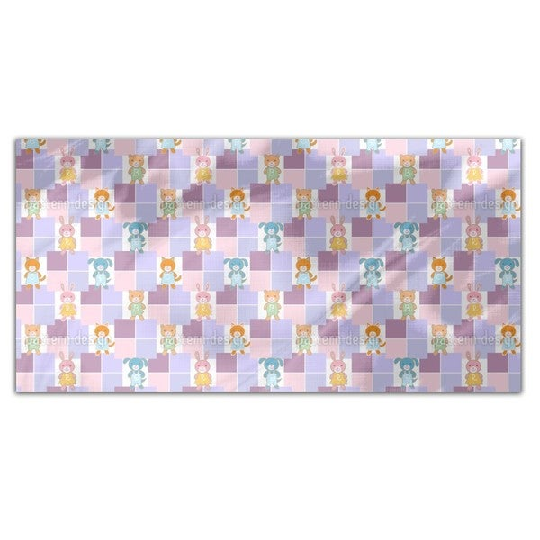 Baby Animals Rectangle Tablecloth