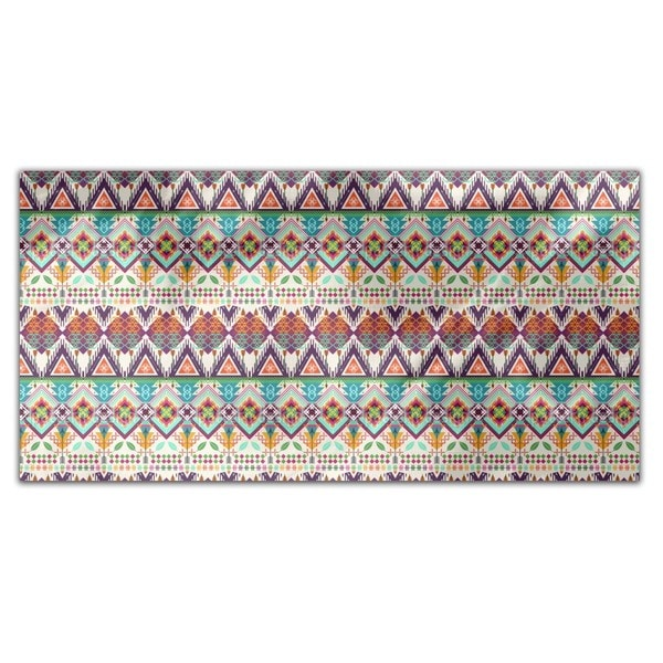 Aztec Tribal Art Rectangle Tablecloth