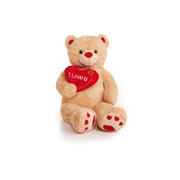 Best Made Toys Jumbo Valentine's 48-inch 'I Love You' Heart Teddy Bear