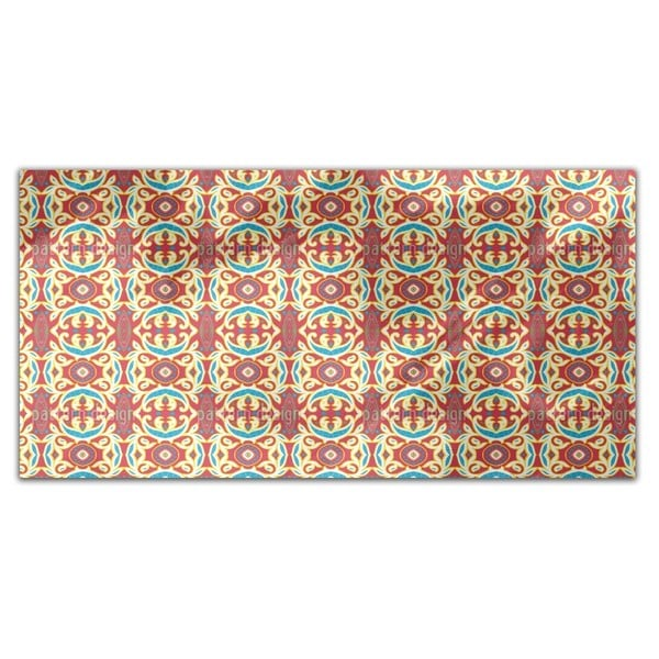 Arabesque Interpretion Rectangle Tablecloth
