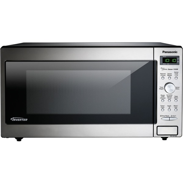Panasonic NN-SD745S 1.6-cubic feet 1250W Genius Sensor Countertop Built-In Microwave Oven with Inverter Technology