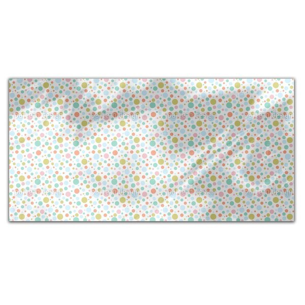 A Lot Of Dots Rectangle Tablecloth
