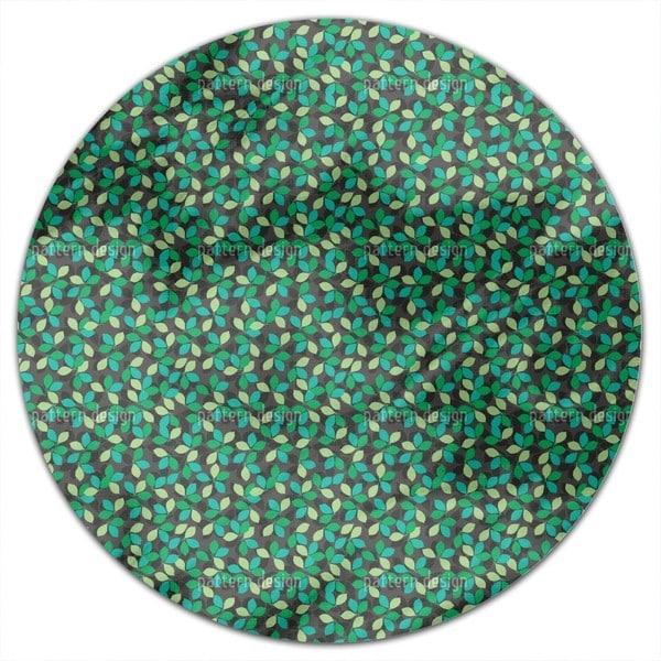 Leaf Match Round Tablecloth