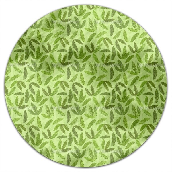 Jungle Feathers Round Tablecloth