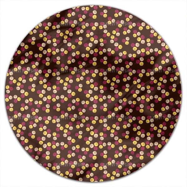 Berry Mix Round Tablecloth
