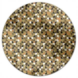 Mosaic Fragments Round Tablecloth