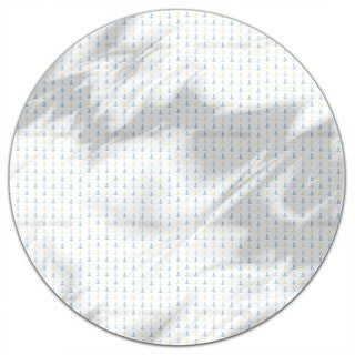 Anchors Up Round Tablecloth