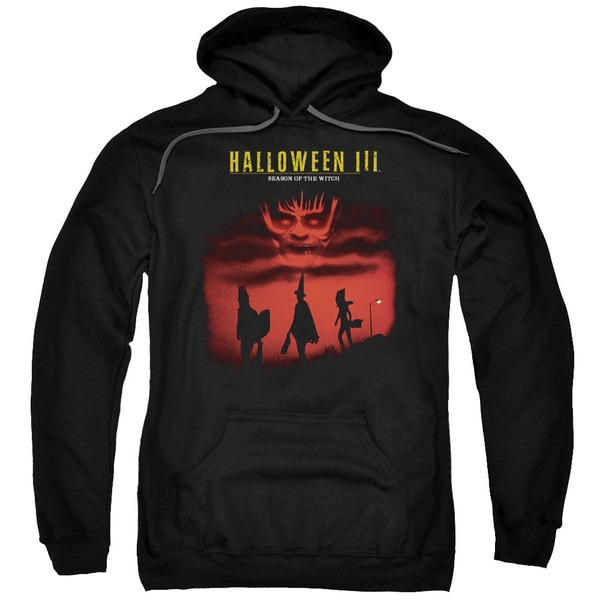 Halloween Iii/Season Of The Witch Adult Pull-Over Hoodie in Black 18717377