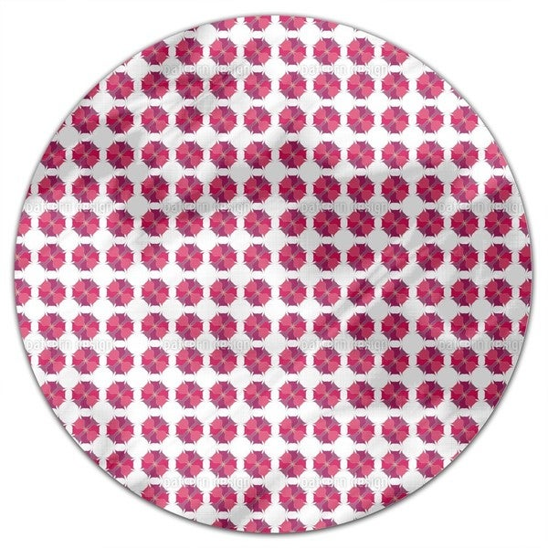 Wild Flower Round Tablecloth