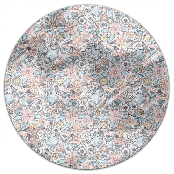 Garden Folklore Round Tablecloth