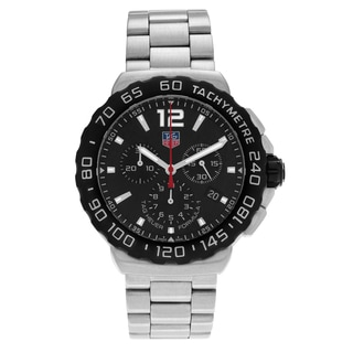 Tag Heuer Men's 'Formula 1' CAU1110.BA0858 Stainless Steel Chronograph Link Watch