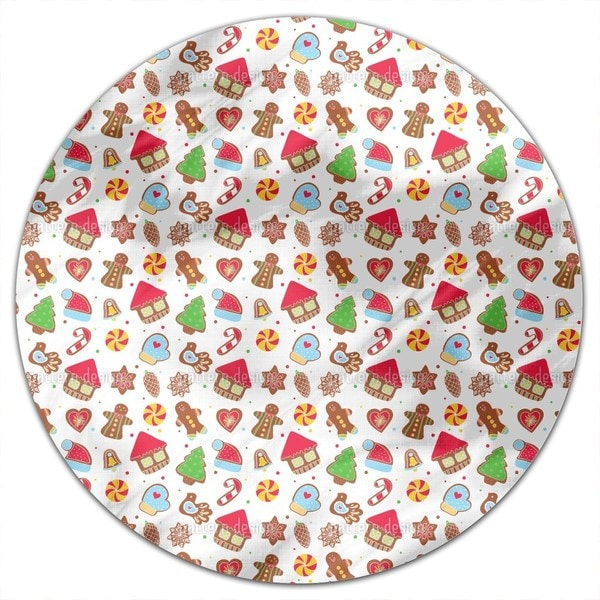 Cookie Jar Round Tablecloth