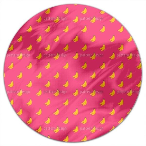 Bananas Round Tablecloth