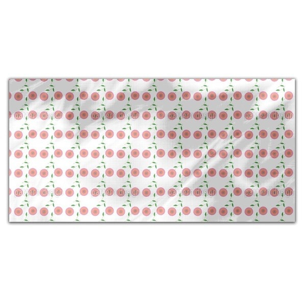 Retro Bloom Rectangle Tablecloth
