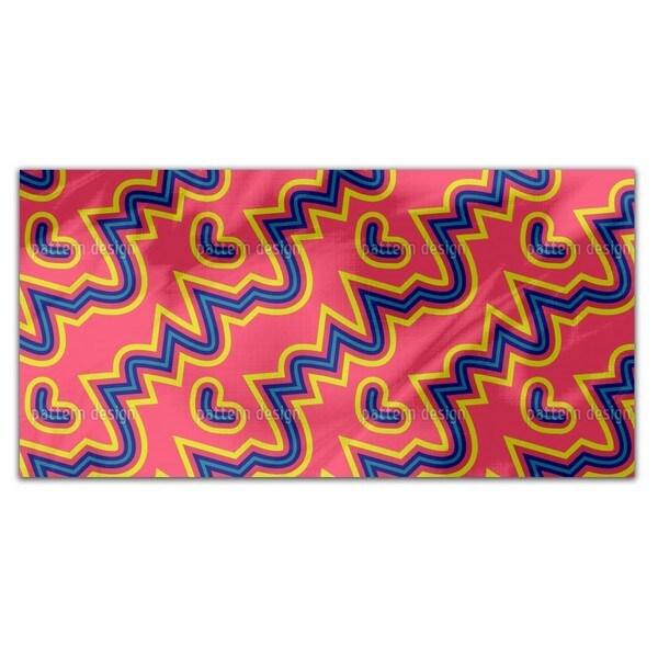 Pink Pop Rectangle Tablecloth