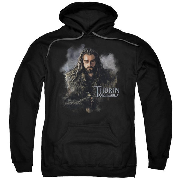 The Hobbit/Thorin Oakenshield Adult Pull-Over Hoodie in Black