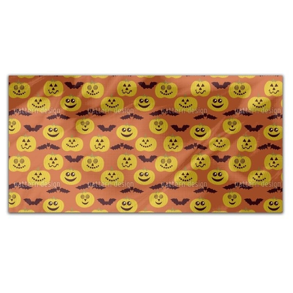 Partytime At Jack O Lantern And Bat Rectangle Tablecloth