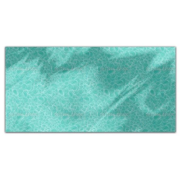 Ocean Tongues Rectangle Tablecloth