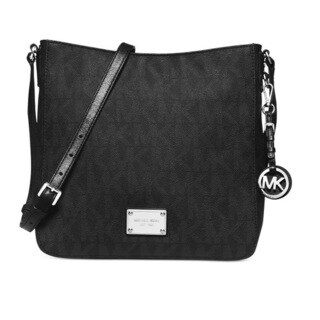 Michael Kors Jet Set Travel Black Crossbody Handbag