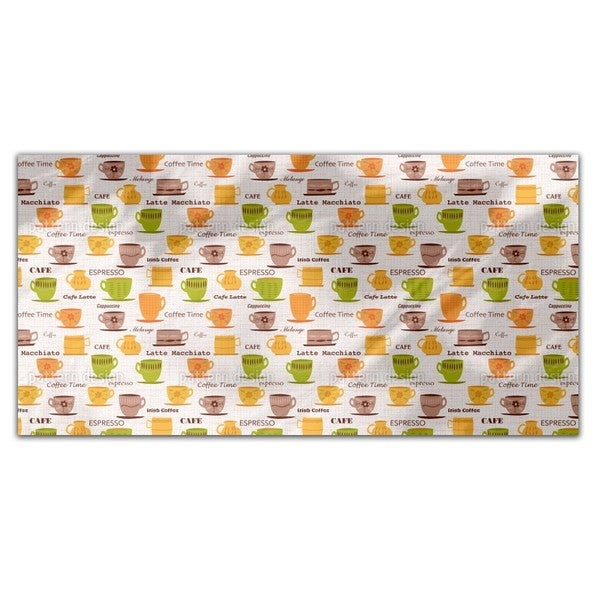 My Coffee Cups Rectangle Tablecloth 18720277