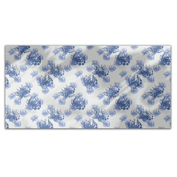 M hlviertel Flowers Rectangle Tablecloth