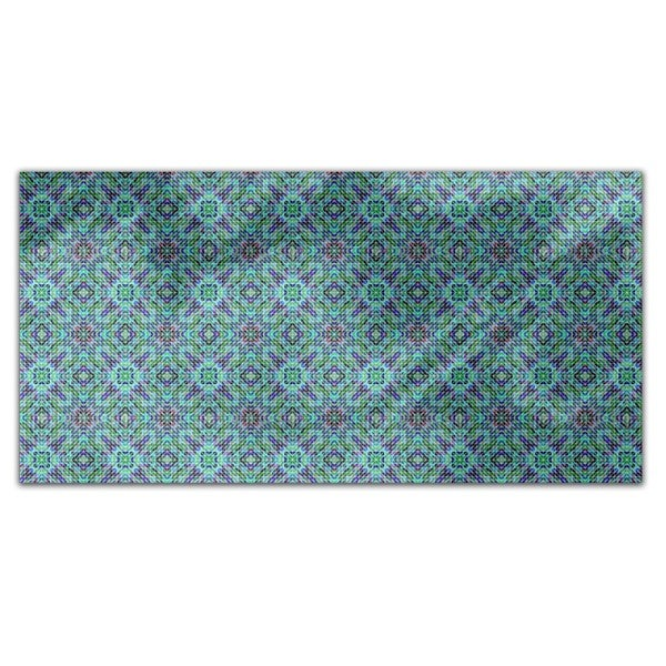 Mosaic Dimension Rectangle Tablecloth