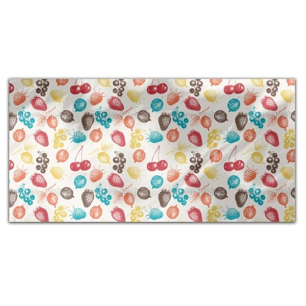 Mixed Berries Rectangle Tablecloth