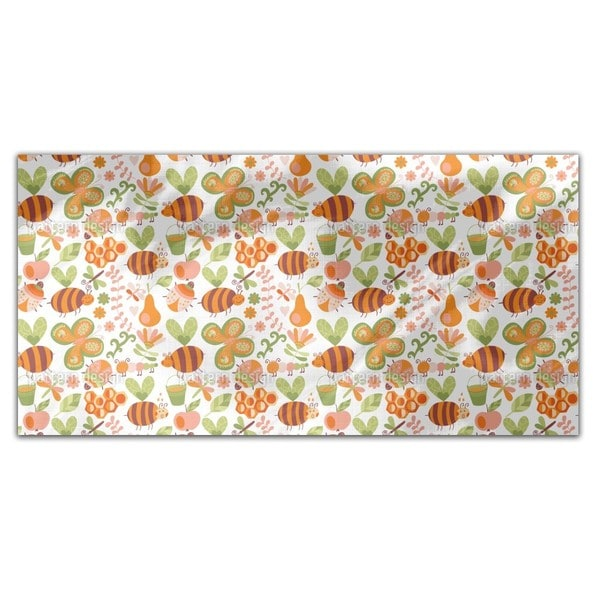 Mellifluous Bees Rectangle Tablecloth