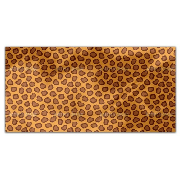 Leopard Spots Rectangle Tablecloth
