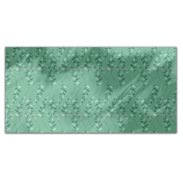 Leaf Meeting Rectangle Tablecloth