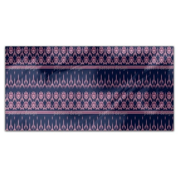 Latin Ikat Rectangle Tablecloth