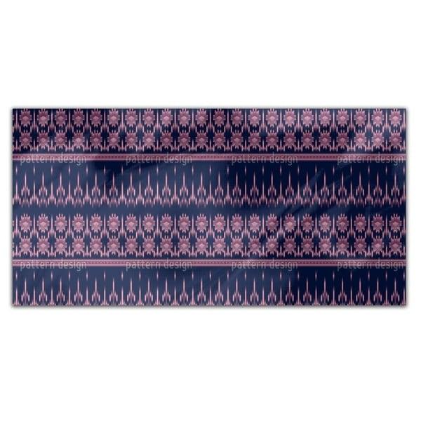 Latin Ikat Rectangle Tablecloth